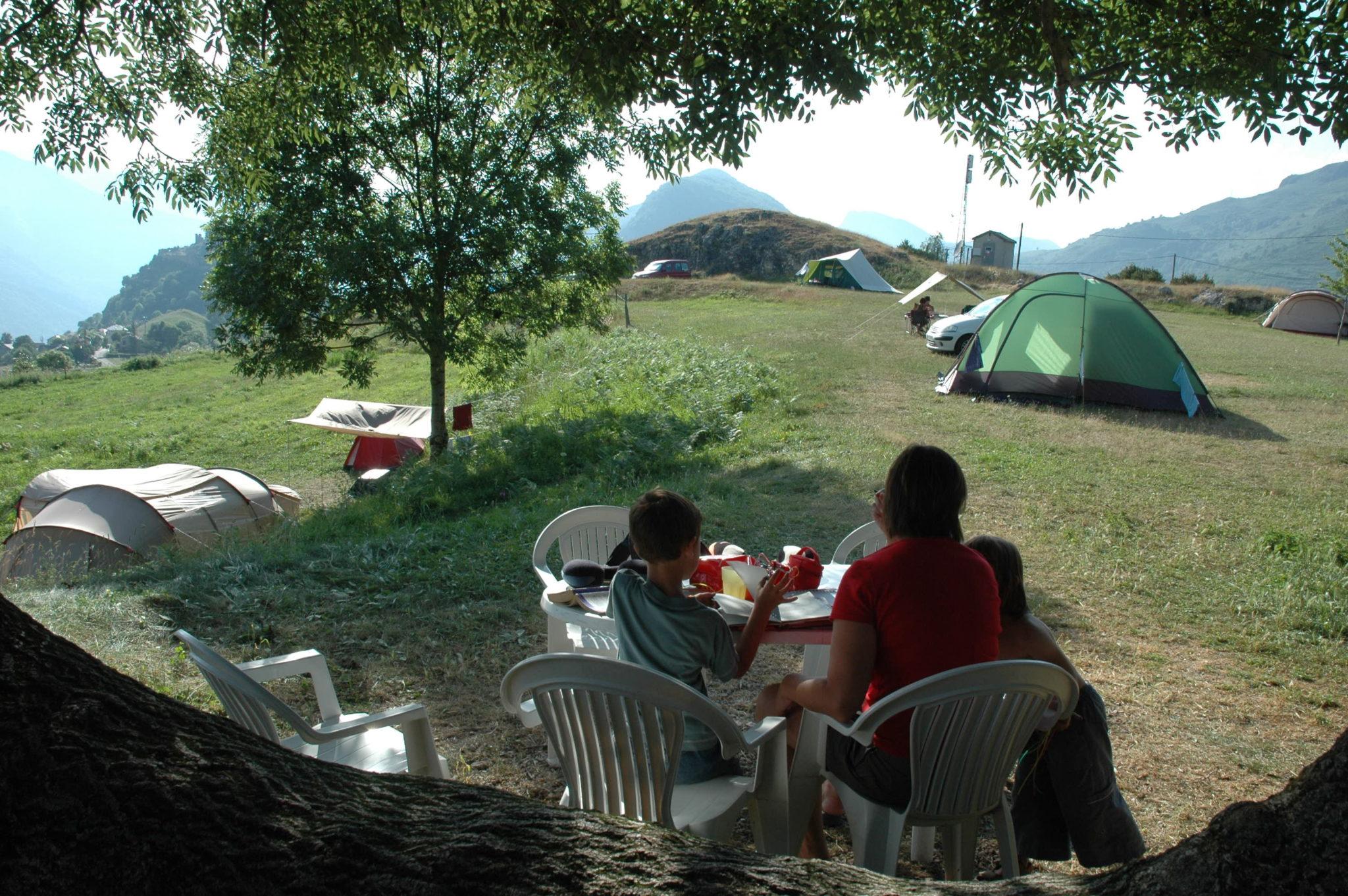 Photo du camping à la ferme de berbescou ariège nature et pyrénées