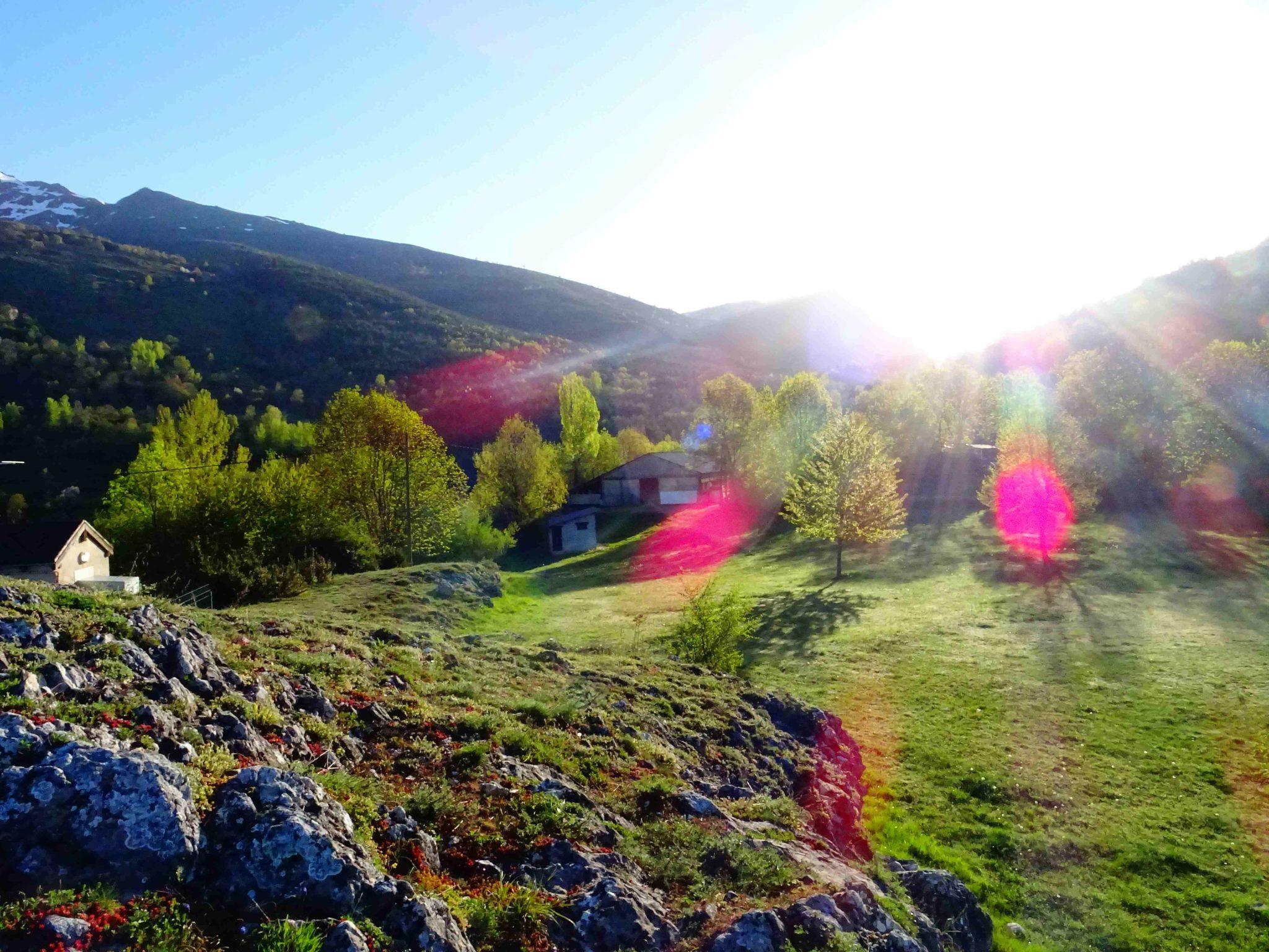 ferme de berbescou printemps nature et pyrénées